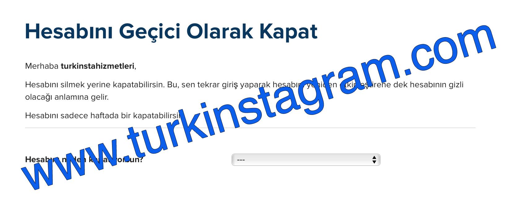 Instagram Hesabımı Yanlışlıkla Sildim 2016 - Çözümü Burda