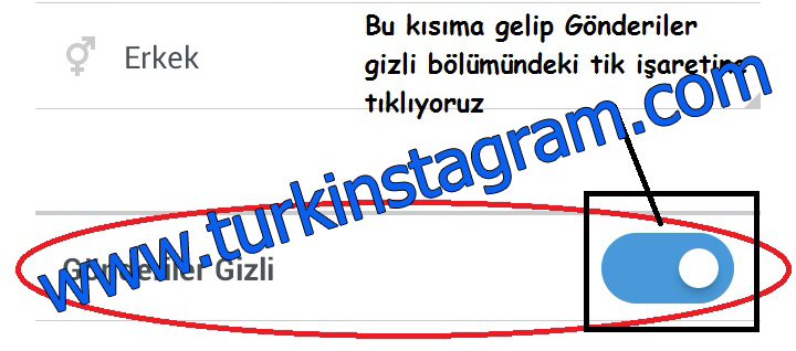 Instagram Profili Gizleme ve Gizliliği Kaldırma